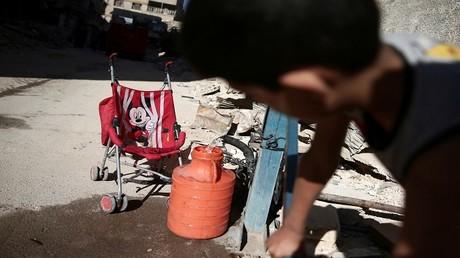 """""""اليونيسيف"""" تحذر من انتشار الأمراض عبر المياه بين أطفال سوريا"""