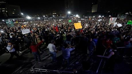 احتجاجات في المكسيك بسبب غلاء أسعار البنزين 6/1/2017