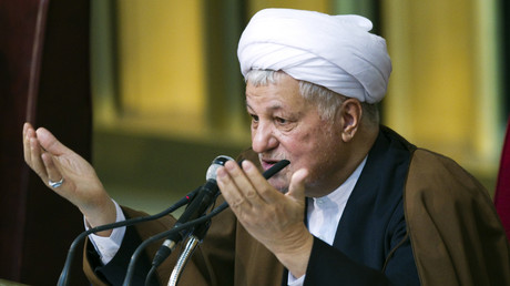 رئيس مجمع تشخيص مصلحة النظام في إيران علي أكبر هاشمي رفسنجاني
