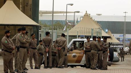 قوات الأمن السعودي