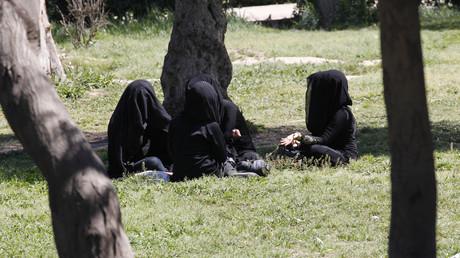 نساء في الرقة، سوريا (صورة أرشيفية)