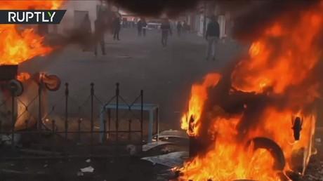 تونس: مواجهات عنيفة بين قوات الأمن ومتظاهرين في بنقردان