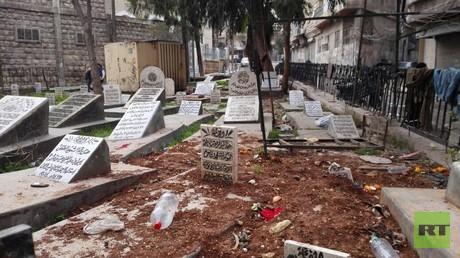 حلب .. هجرة القبور إلى القبور!