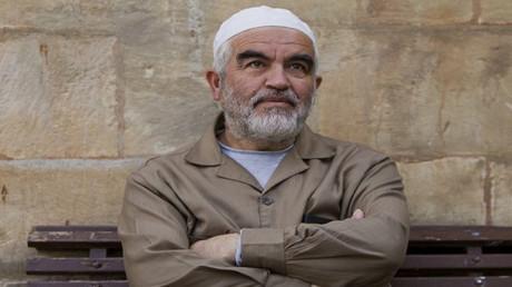 رئيس الحركة الإسلامية داخل الخط الأخضر، الشيخ رائد صلاح (صورة أرشيفية)