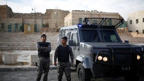 القوات الأردنية في الكرك