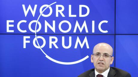 نائب رئيس الوزراء التركي محمد شيمشك