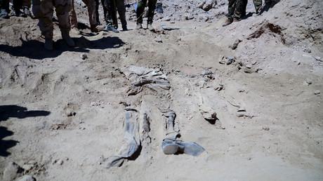 مقبرة جماعية في تكريت من ضحايا داعش - أرشيف