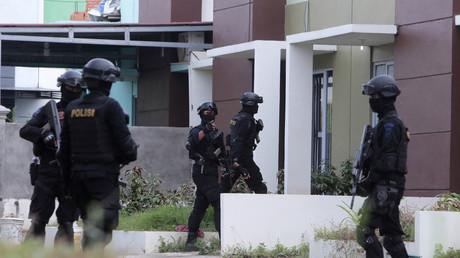 عمليات أمنية في إندونيسيا - أرشيف