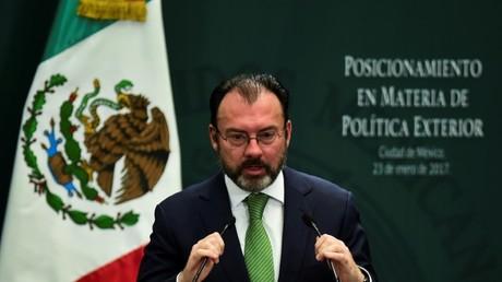 وزير الخارجية المكسيكي لويس فيديغاراي