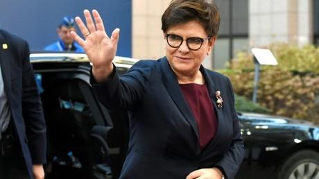 رئيسة الوزراء البولندية بياتا شيدلو