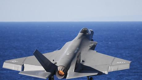 """المقاتلة الأمريكية """"F-35C """""""