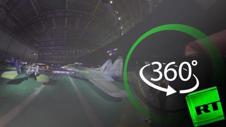 شاهد بتقنية 360 درجة المقاتلة