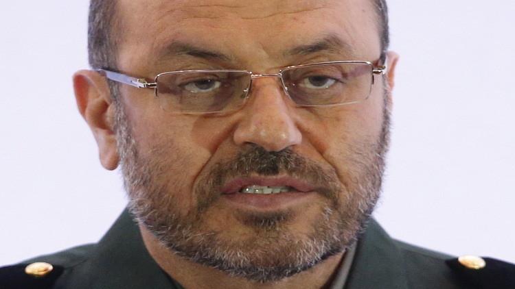 وزير الدفاع الإيراني: أطلقنا صاروخا ولن نسمح لأي جهة بالتدخل في شؤوننا