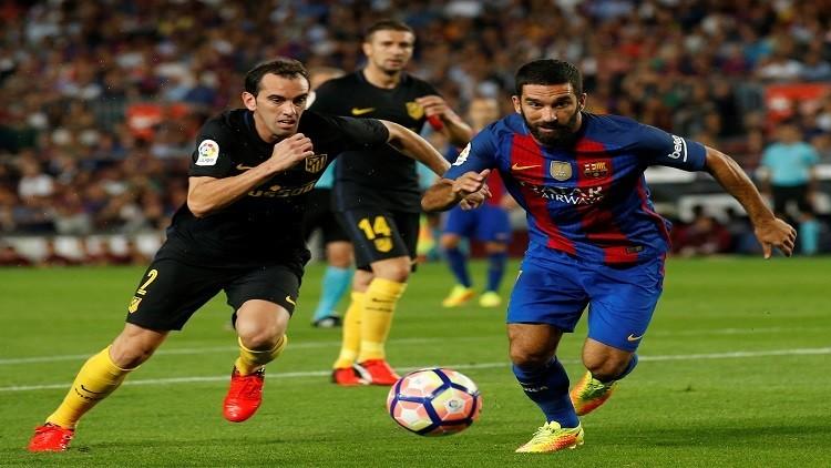برشلونة في مهمة صعبة أمام أتلتيكو مدريد