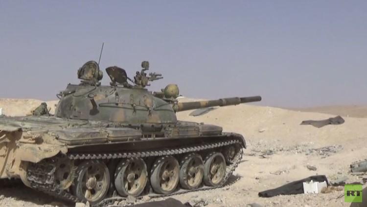الجيش السوري يحرزا تقدما في المعارك ضد