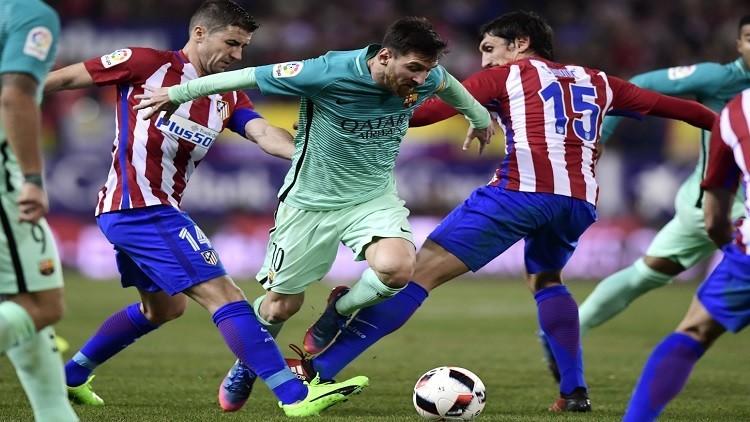 كأس الملك.. برشلونة يهزم أتلتيكو مدريد ويضع قدما في النهائي