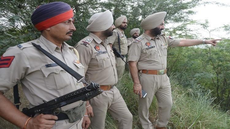 مقتل 8 رجال شرطة في هجوم مسلح بالهند
