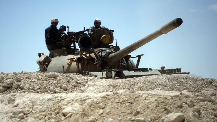 الجيش السوري والطريق إلى تدمر