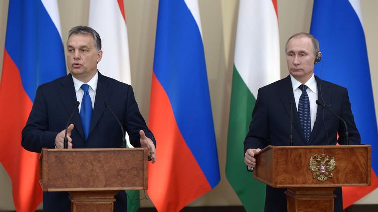بوتين: يمكن للغاز الروسي أن يصل إلى هنغاريا