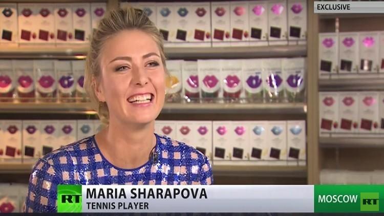 ماريا شارابوفا لـRT:تقليص عقوبة الإيقاف أفضل هدية لي