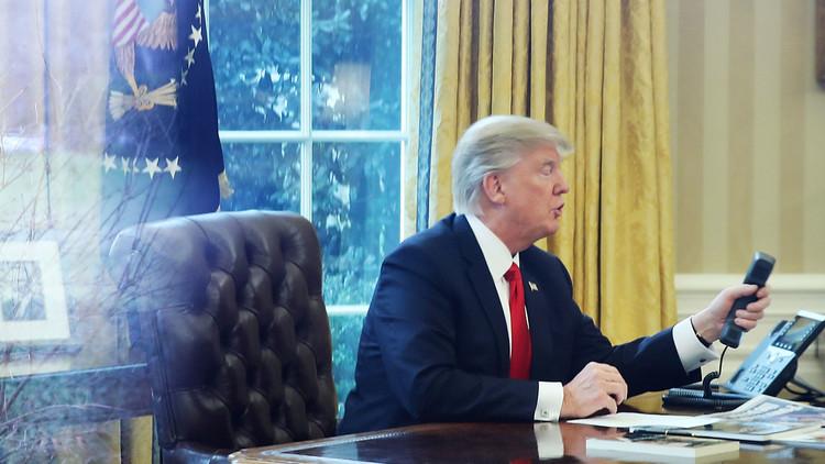 ترامب: المكالمات الهاتفية الصعبة مع زعماء الدول لا تدعو للقلق