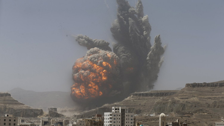 قصف أمريكي لمواقع