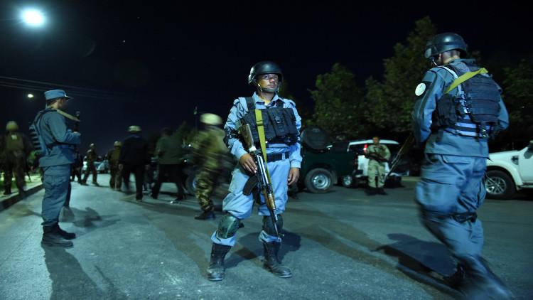 مقتل 8 عناصر شرطة أفغان في كمين لطالبان