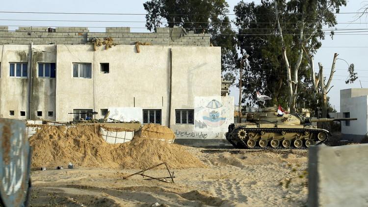 مقتل 3 مسلحين في العريش المصرية