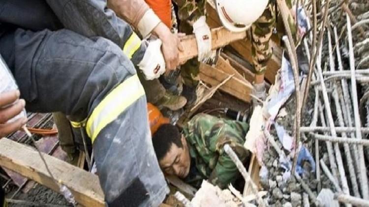 مقتل 7 في انهيار مبنى سكني شرقي الصين