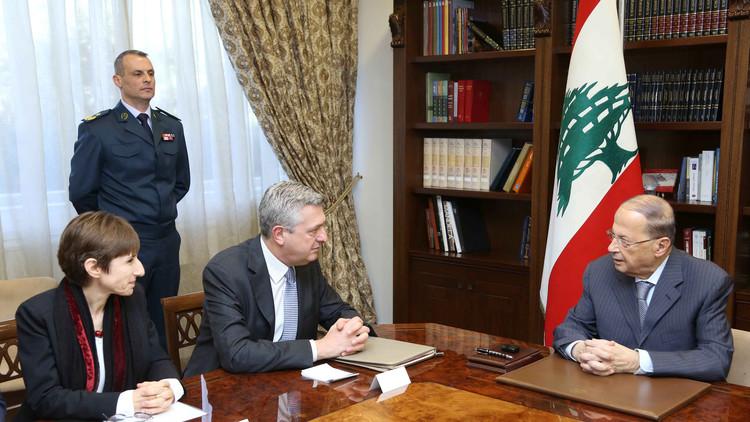 عون يؤيد إقامة مناطق آمنة في سوريا