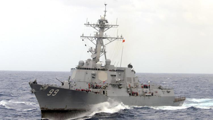 أمريكا ترسل مدمرة إلى باب المندب قرب سواحل اليمن