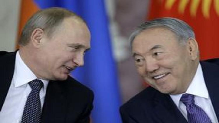 بوتين ونزاربايف: مفاوضات أستانا دفعت بالتسوية السورية إلى الأمام