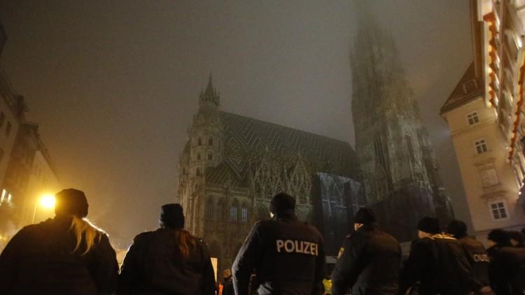 شرطة فيينا تعتقل 22 شيشانيا
