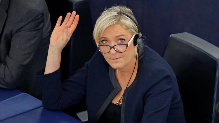 لوبان تبدأ حملتها الرئاسية بتعهد للفرنسيين بـ