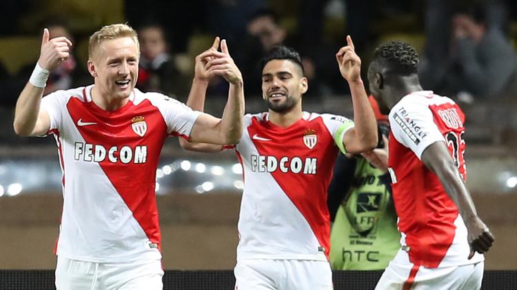 موناكو ينفرد بصدارة الدوري الفرنسي
