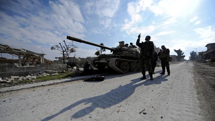 اشتباكات بين الجيش السوري والفصائل المسلحة في محيط دمشق