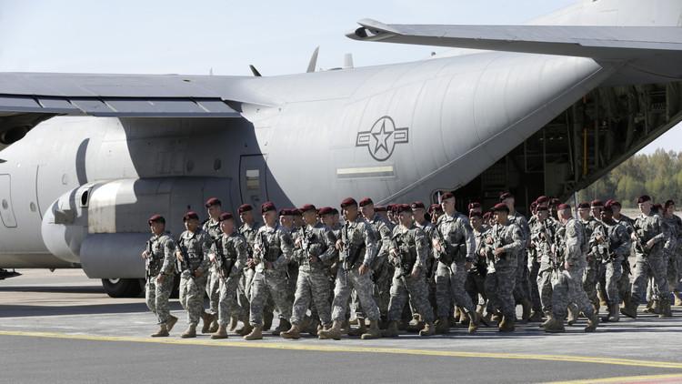 أكثر من 220 عسكريا أمريكيا عند حدود روسيا مع لاتفيا