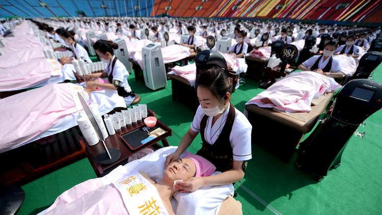 مصرع 18 شخصا بحريق في صالة شرقي الصين