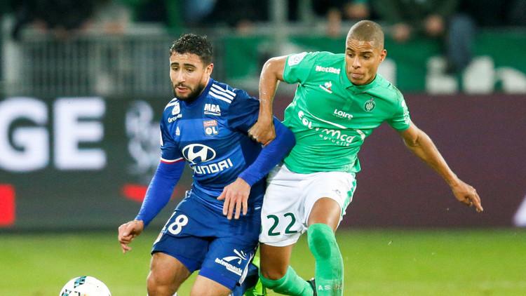 سانت إتيان يكرم ضيفه ليون بثنائية في الدوري الفرنسي