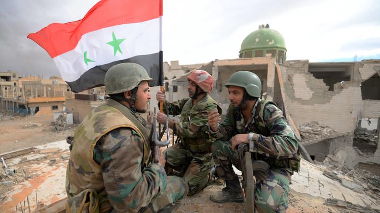 الجيش السوري يتقدم في تدمر والباب