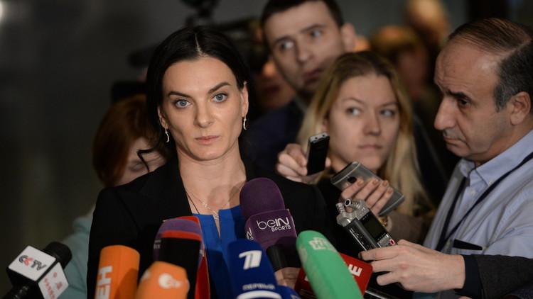 إيسينباييفا سفيرة للألعاب العسكرية العالمية