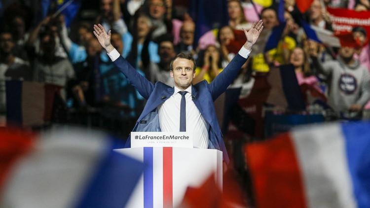 ماكرون يتقدم على لوبان في أحدث استطلاع فرنسي