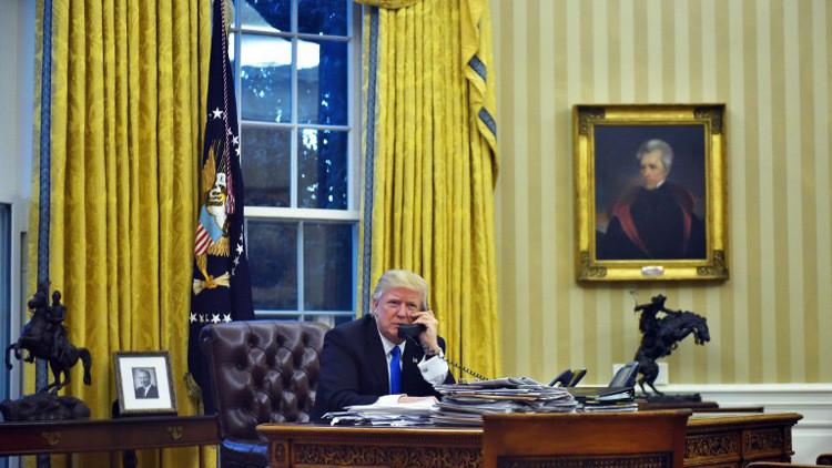 ترامب يجري اتصالا هاتفيا مع أردوغان