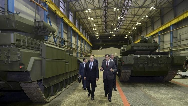 روسيا تحافظ على مكانتها في سوق السلاح العالمية