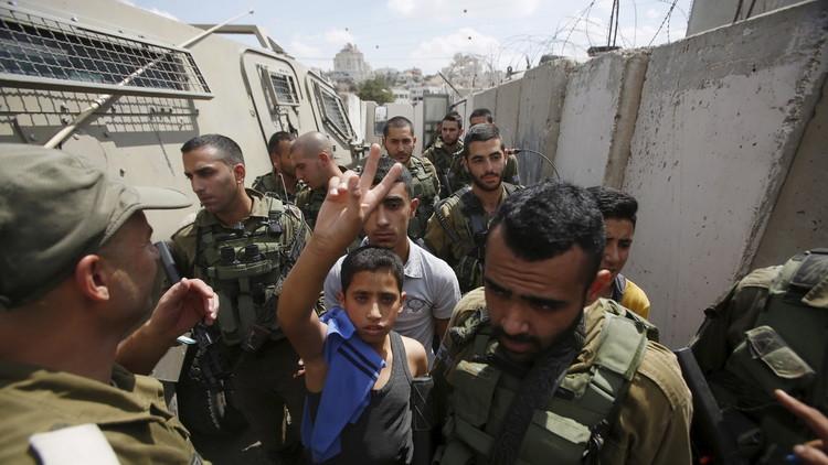 تزايد عدد الأطفال الفلسطينيين المعتقلين في السجون الإسرائيلية