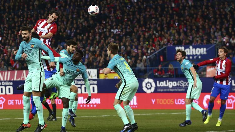 برشلونة وأتلتيكو مدريد .. التشكيلة الأساسية
