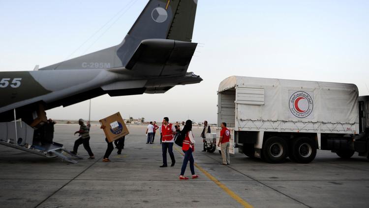الأمم المتحدة: وصول قافلة إنسانية واحدة إلى سوريا منذ بداية العام