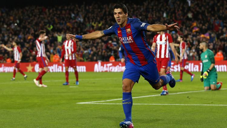 سواريز يقود برشلونة إلى نهائي كأس إسبانيا