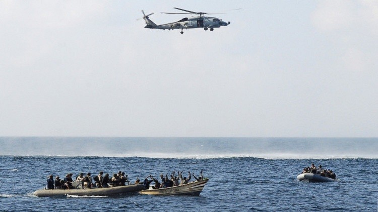قراصنة يخطفون بحارة من روسيا وأوكرانيا