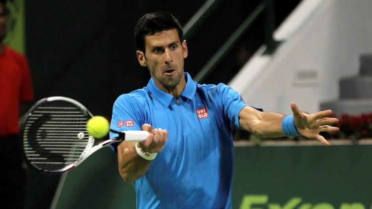دجوكوفيتش يرحب بعودة شارابوفا إلى ملاعب التنس